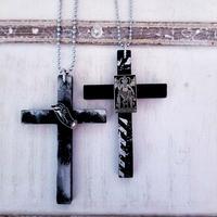 ART Cross Necklace
