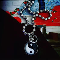 Yin Yang Ball Necklace