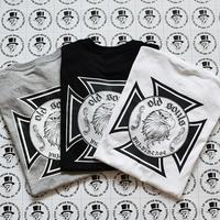 YUF Vintage  OLD  SOULS グラフィックsilk print Tシャツ