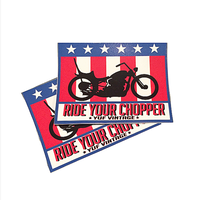 Ride Your  Chopper   ステッカー