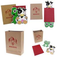 ミニ・マジックカウ&フロッグ【Y0055】Magi Cow and Frog by Zero Magic