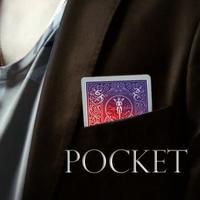 ポケット<ポケットのカードが一瞬に変化>【M53768】Pocket (DVD and Gimmick) by Julio Montoro and SansMinds