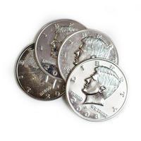 3重ジャンボシェル+ジャンボコイン【G0696】Four Coin To One (Big Half Dollar)