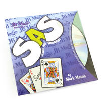SAS <目の前でカードが変化する強烈な現象>【G0967】SAS (Signed And SandWiched) by Mark Mason and JB Magic