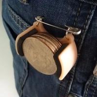 メタル・コインダンパー(ハーフダラー用)【D3030】Coin Dumper(Half Dollar)