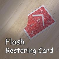 手を触れずにカード復活「フラッシュ・リストアカード」