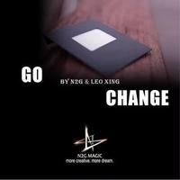 ゴーチェンジ<究極の封筒に通うカード>【F0007】Go Change by N2G and Leo Xing