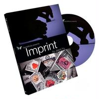 インプリント<まるでCG! 物体が飛び込む!>【M55654】Imprint (DVD and Gimmick) by Jason Yu