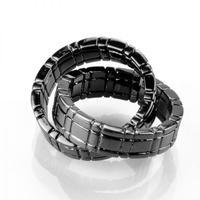 ヒンバーリング・ブラック<指輪がつながる>【G0975】Himber ring (black)