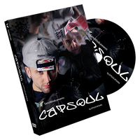 キャップソウル【M53995】Capsoul (DVD and Gimmick) by Deepak Mishra and SansMinds Magic