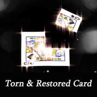 史上最強にビジュアルな復活カード「トーン&リストアカード」Torn & Restored Card