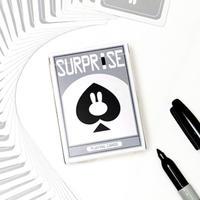サプライズ・デック(グレー)<ポップで可愛いデック>【D0021】Surprise Playing Cards