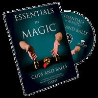 エッセンシャルズ・イン・マジック・カップアンドボール<ダローの日本語吹替DVD>【M49326】Essentials in Magic Cups and Balls  -DVD