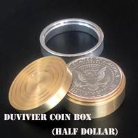 ドゥビビエ・コインボックス【M8889】Dominique Duvivie Coin Box (Half Dollar)