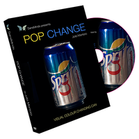 ポップ・チェンジ<缶ジュースの瞬間変化!>【M55724】Pop Change (DVD and Gimmick) by Julio Montoro and SansMinds
