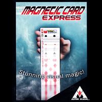 マグネティックカード・エクスプレス(赤)<進化したエレクトリックデック>【M49673】Magnetic Card Express (Red) by Astor Magic
