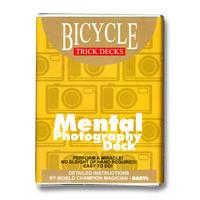 メンタルフォト・デック【M40328】【M40394】Mental Photo Deck Bicycle