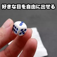 好きな目を自由に出せる「スーパーダイス」【Y0018】automatic dice