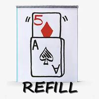 リフィル:スケッチパッド・カード・ライズ(ハート7・ダイヤ5)【M5555】Refill For Signature Edition Sketchpad Card Rise (12 pack)