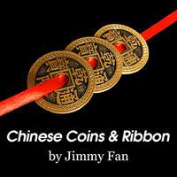 完璧なギミックコイン『チャイニーズコイン&リボン』【C0005】Chinese Coins and Ribbon
