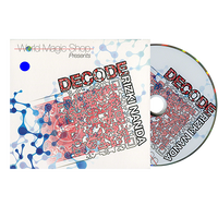 デコード<文字や記号の変化>【M54391】Decode (DVD and Gimmick) by Rizki Nanda and World Magic Shop