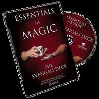 エッセンシャルズ・イン・マジック・スベンガリデック【M48818】Essentials in Magic Svengali Deck-DVD