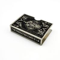 スチール・デビル・カード・プロテクター(ブラック)【G0746】Steel Devil Card Protector