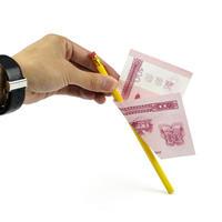 ペンシル・スルー・ビル【G0065】Pencil thru bill (misled)
