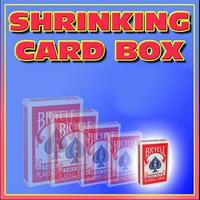 シュリンキング・カードボックス<縮むカードボックス>【G0546】Shrinking Card Box