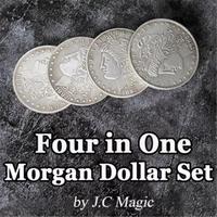 モルガン・レプリカ・3重シェル セット【M5556】Four in One Morgan Dollar Set