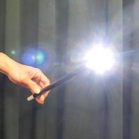 フラッシュライト・ウォンド(白)<超発光のウォンド>【G1540】Lighting Magic Wand (White)