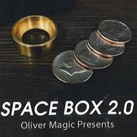 新種のコインボックス『スペースボックス2.0』【C0011】Space Box 2.0 by Oliver Magic