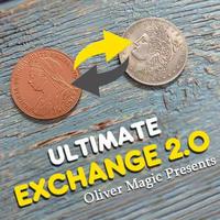 究極のコイントランスポジション「アルティメット・エクスチェンジ2.0」【C0007】Ultimate Exchange 2.0 by Oliver Magic
