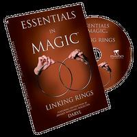 エッセンシャルズ・イン・マジック・リンキングリング【M49327】Essentials in Magic Linking Rings  -DVD