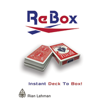 リ・ボックス<進化系バニシングボックス>【X55727】Re Box by Rian Lehman