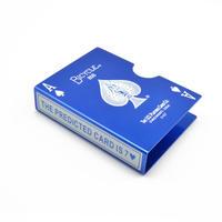 スチール・バイスクル・カード・プロテクター(ブルー)【G0637】Steel Bicycle Card Protector (Blue)