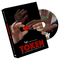 トークン<ストローがハートの形に変化>【X56988】Token (DVD and Gimmick) by SansMinds Creative Lab