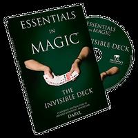 エッセンシャルズ・イン・マジック・インビジブルデック<ダローの日本語吹替DVD>【M49211】Essentials in Magic Invisible Deck -DVD