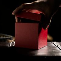 ザ・ギフト(赤・限定版)<精巧にできた究極の予言小箱>【M60339】The Gift Red Limited Edition by Angelo Carbone