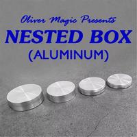 堅固なアルミ製「ネストボックス(アルミニウム製)」【C0002】Nested Box (Aluminum) by Oliver Magic