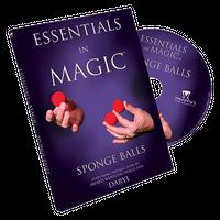 エッセンシャルズ・イン・マジック・スポンジボール【M49325】Essentials in Magic Sponge Balls  -DVD