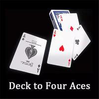 カードケースが4枚のAに瞬間変化「デックトゥフォーエーセス」/Deck To Four Aces