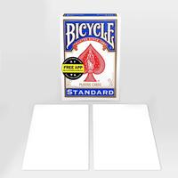 両面とも真っ白のカード「ダブル・ブランク・デック」【M37506】Double Blank Bicycle Cards