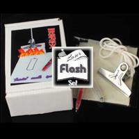 レーザーフラッシュセット<クリップ型着火アイテム>【Y0033】LASER FLASH SET