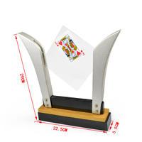 テレビカード・フレームDX<選ばれたカードがガラスを貫通>【G0465】TV Card Frame (Deluxe)
