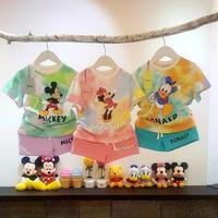【即納】Disneyタイダイセットアップ