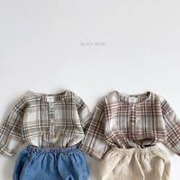 【ご予約】ベビーcheckトップス+ブルマセット