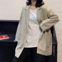 ダブルオーバージャケット(2色)