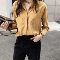 ビッグポケットステッチシャツ(3色)