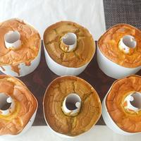 白神こだま酵母のシフォンレシピセット販売(プレーンと米粉抹茶)